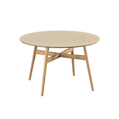 Solid wood round table customization